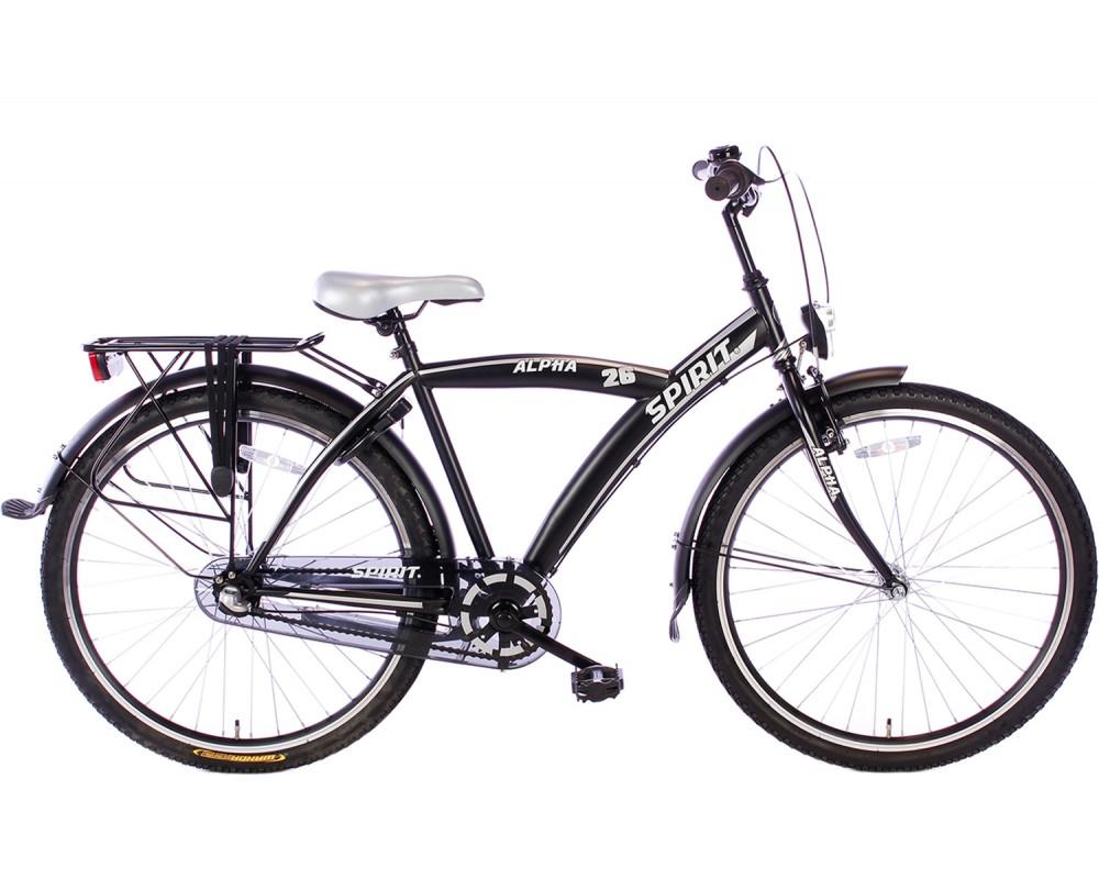 Spirit Alpha N3 Zwart 26 inch