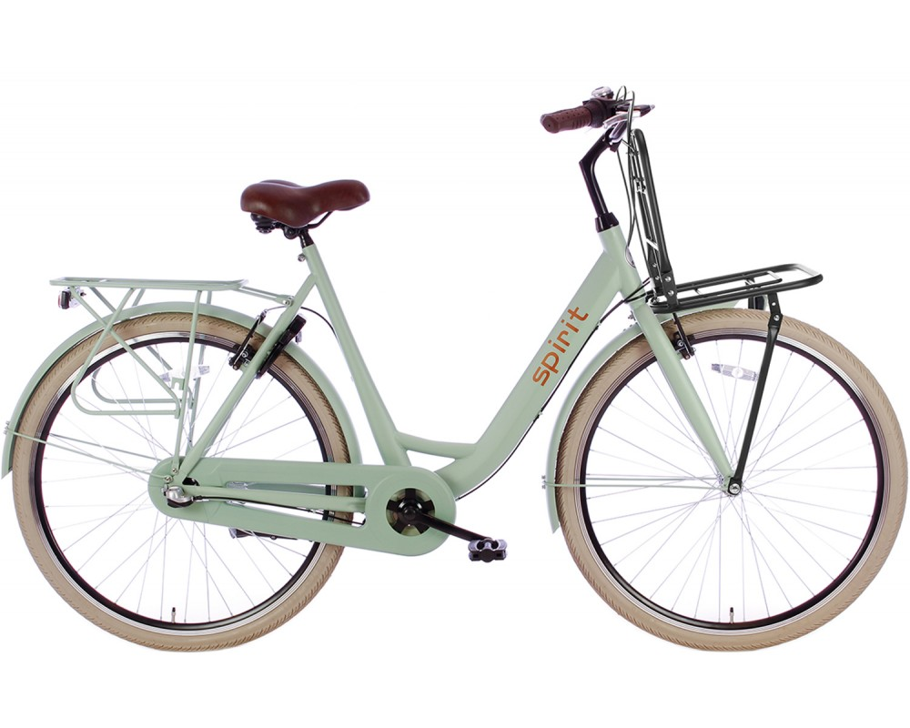 Spirit Bright Plus N3 Damesfiets Groen