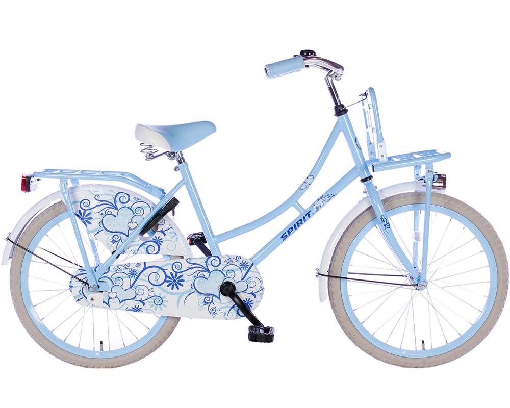 Spirit Omafiets Blauw 22 inch