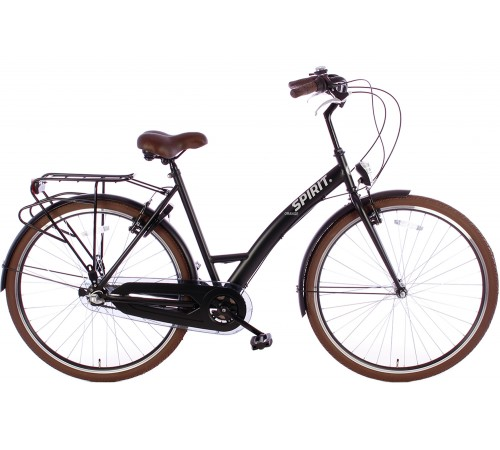 Spirit Orange N3 Damesfiets Mat-Zwart
