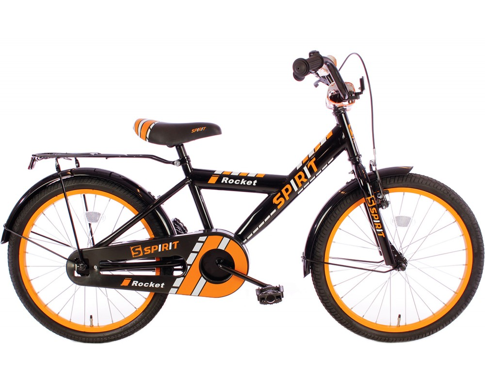 Spirit Rocket Oranje-zwart 18 inch