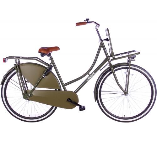 Spirit Omafiets Plus Mat-Groen 28 inch