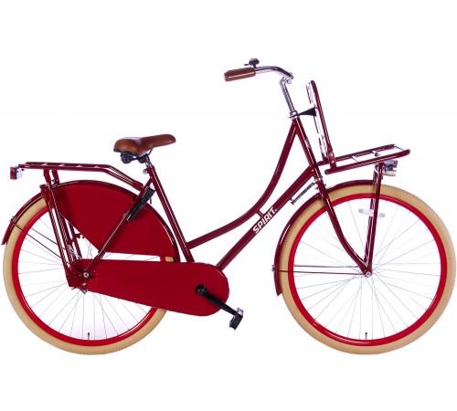 Spirit Omafiets Plus Rood 28 inch